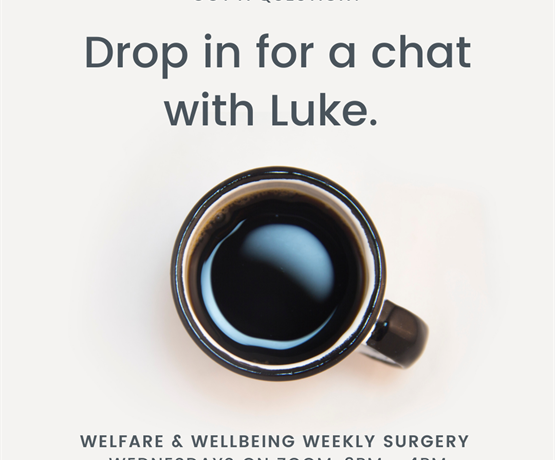 Wellbeing Wednesday - Chat with Luke!