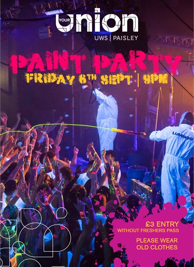 Freshers' Finale - Paint Party