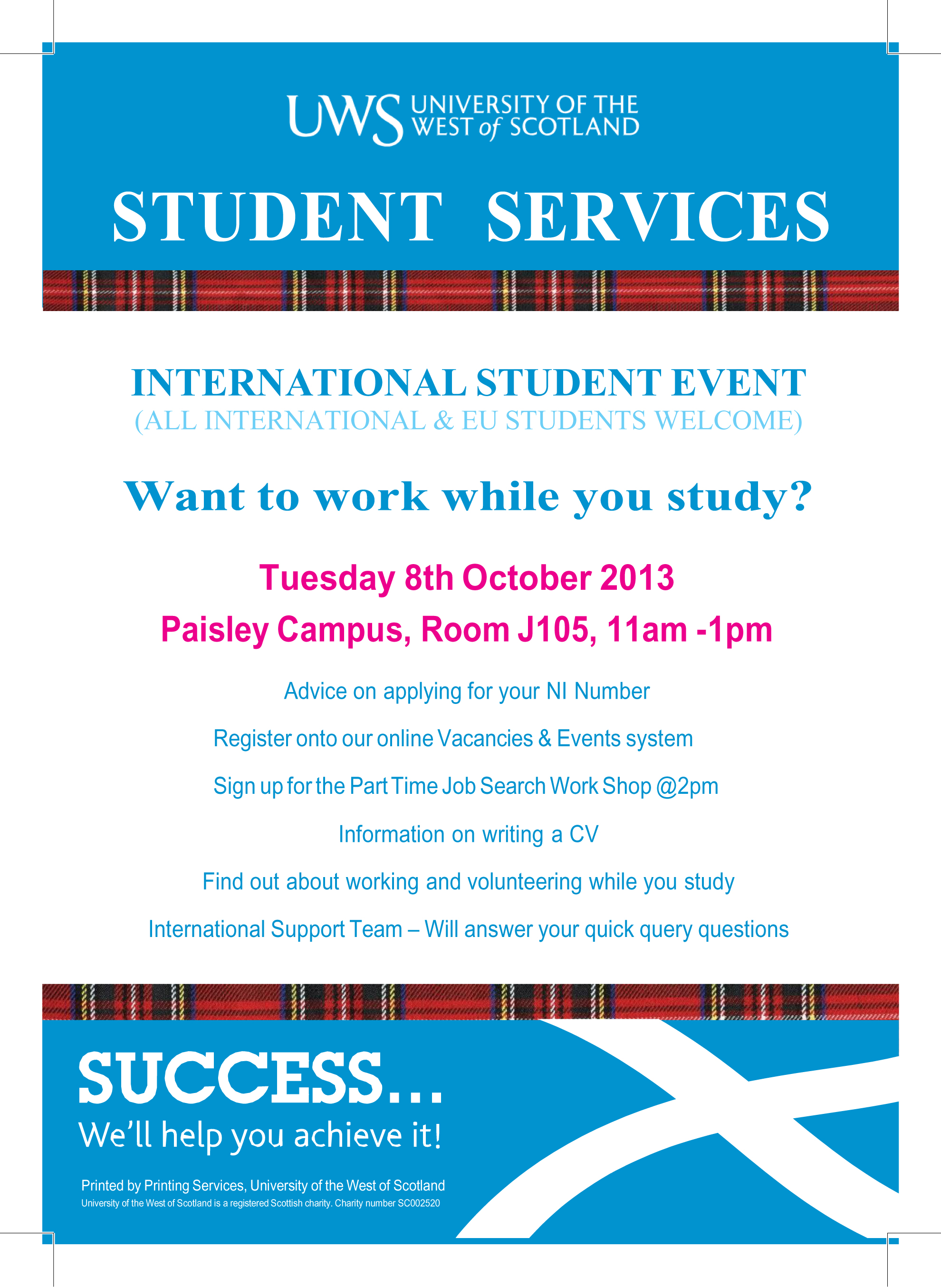 Want To Work While You Study For International Students