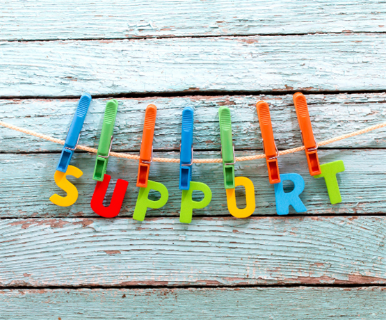 Mental health support is available from a number of external organisations to students - this support ranges from self-guided emotional support to support for those in crisis.